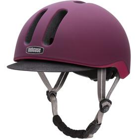 Nutcase Metroride casco per bici viola
